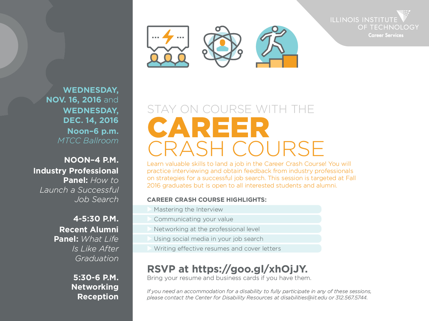 Career Crash Course | Illinois Institute of Technology