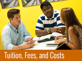 Tuition, Fees and Costs