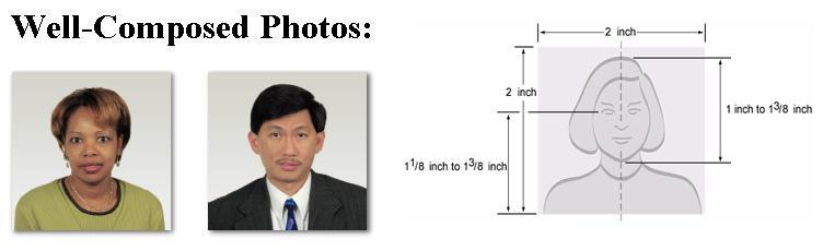 correct u s  passport photographs