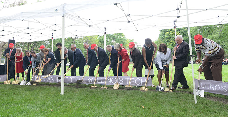 Kaplan Institute Groundbreaking