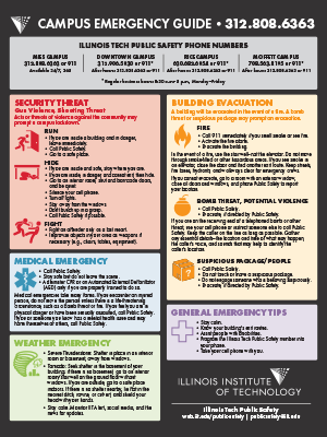 Campus Emergency Guide