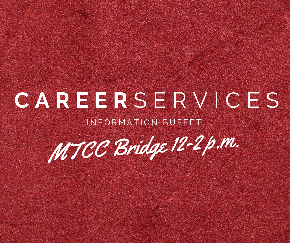 Career Services Information Buffet