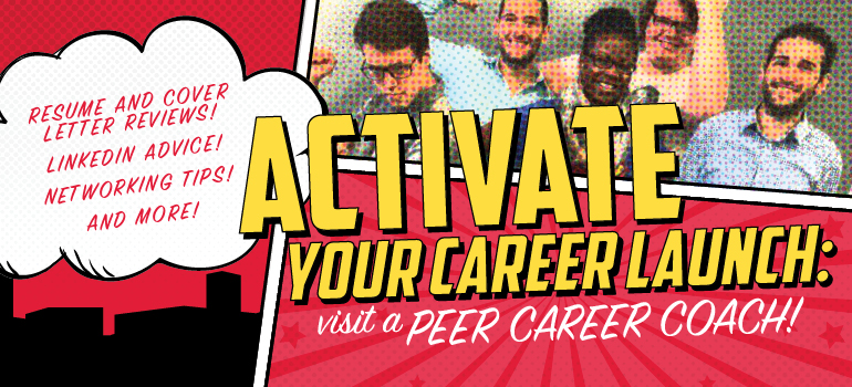 Meet With A Peer Career Coach